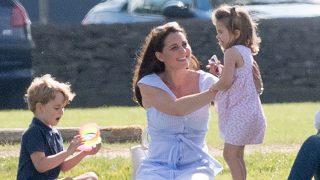 Kate Middleton y sus hijos / Gtres