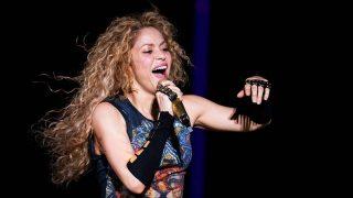 Shakira durante su gira El Dorado World Tour en Hamburgo / Gtres