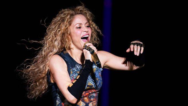 Milan y Sasha Piqué, protagonistas en el concierto de Shakira