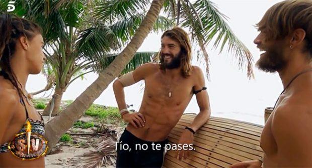 Sofía Suescun, Logan Sampedro, Sergio Carvajal