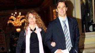 Julen Lopetegui y su mujer, Rosa / Gtres