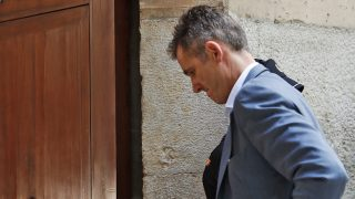 Iñaki Urdangarin llega a la Audiencia de Palma / Gtres