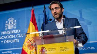 Màxim Huerta en su dimisión como Ministro de Cultura / Gtres