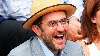 Màxim Huerta disfrutó feliz de la final de Roland Garros hace solo tres días / Gtres