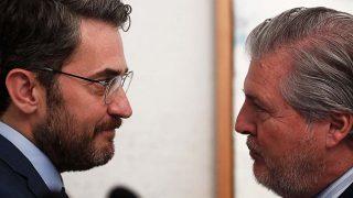 Los ministros de Cultura Màxim Huerta e Íñigo Méndez de Vigo el pasado 7 de junio / Gtres