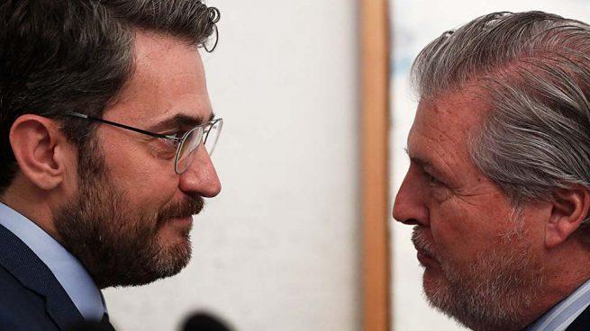 Ministro de Cultura Màxim Huerta e Íñigo Méndez de Vigo