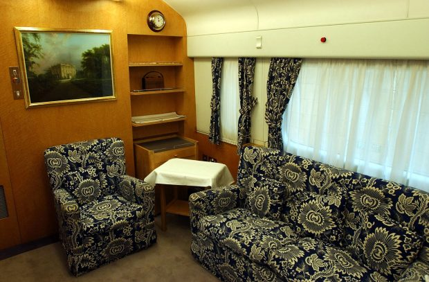 Así es el tren en el que Meghan y la reina Isabel han viajado juntas (y Kate nunca ha subido)