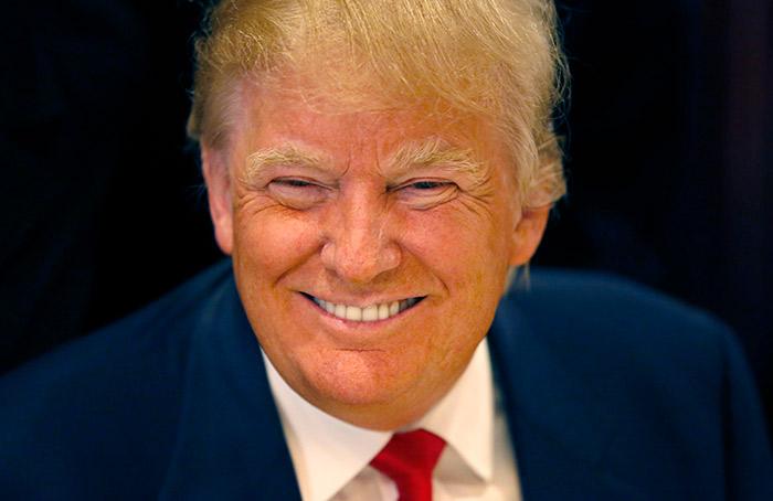Donald trump autobronceador