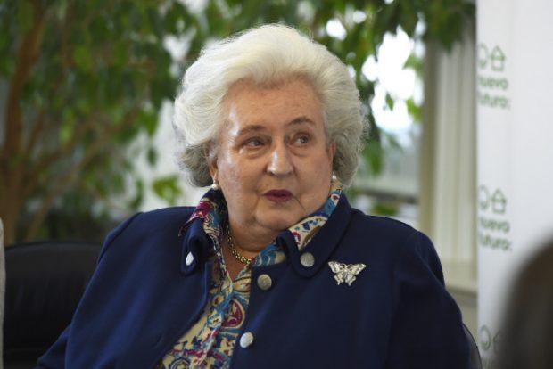 Doña Pilar opina sobre la sentencia Nóos: «Creo firmemente en la Justicia»
