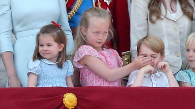 Savannah la rebelde: ¿A quién ha copiado la prima del príncipe George al taparle la boca?