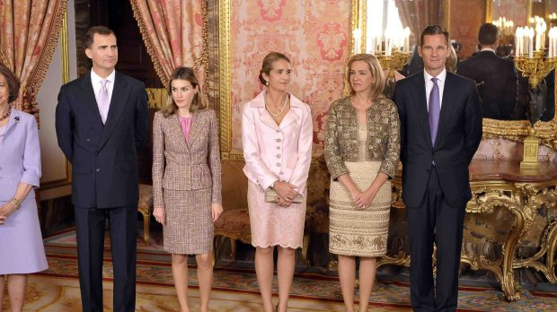 Trump recibe en la Casa Blanca a los reyes de España