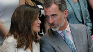 El rey Felipe y Doña Letizia en su última visita a Estados Unidos /Gtres