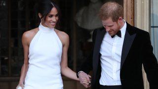 Los Duques de Sussex el día de su boda // Gtres