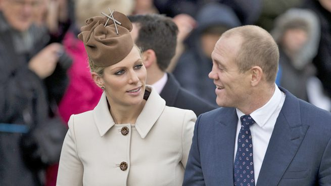 Zara Phillips y Mike Tindall