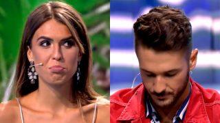 Hugo y Sofía durante la última gala de Supervivientes / Telecinco