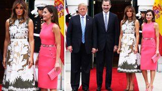 Los reyes Felipe y Letizia se reúnen a los Trump en la Casa Blanca / Gtres