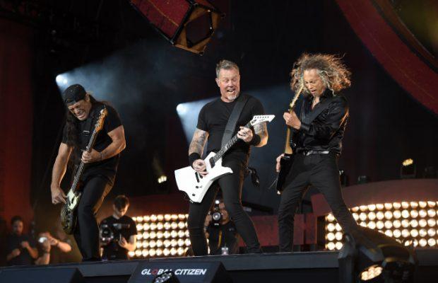 Metallica en concierto / Gtres