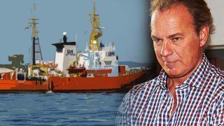Bertín Osborne, envuelto en la polémica por los inmigrantes del Aquarius