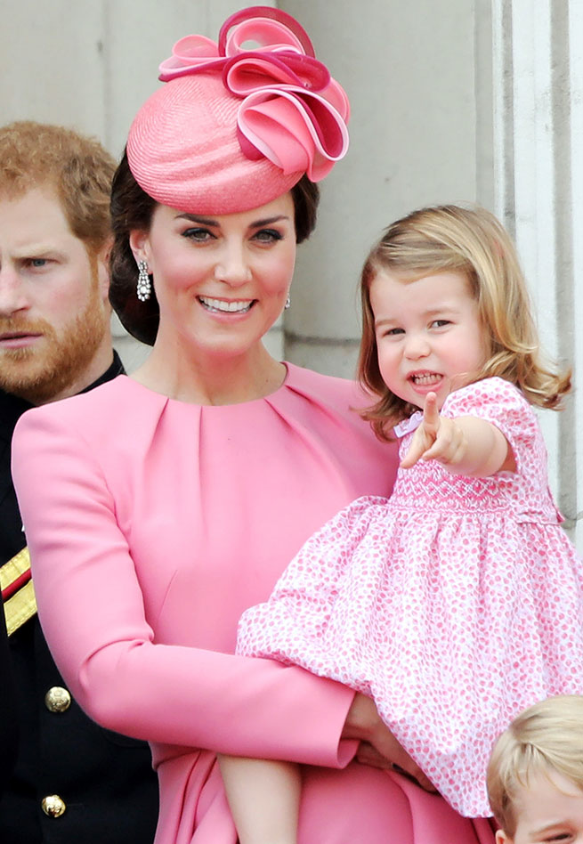 charlotte trooping the colour