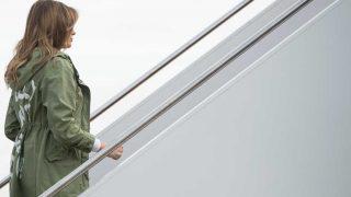 Melania Trump vuelve a ser polémica por una prenda / Gtres