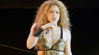 Shakira en un concierto celebrado en París. / Gtres