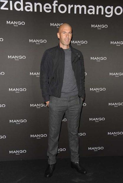 Zinedine Zidane con un look relajado / Gtres