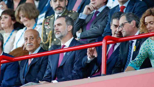 El retorno del rey Felipe a Tarragona