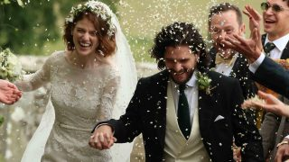 Kit Harington y Rose Leslie recién casados /Gtres