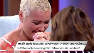 María Jesús Ruiz se ha emocionado mucho en Viva la vida /Mediaset