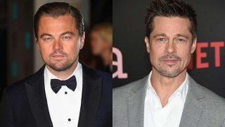 Los actores Leonardo DiCaprio y Brad Pitt. / Gtres