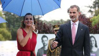 Los reyes Felipe y Letizia llegan a los Premios de la Fundación Princesa de Girona / gtres