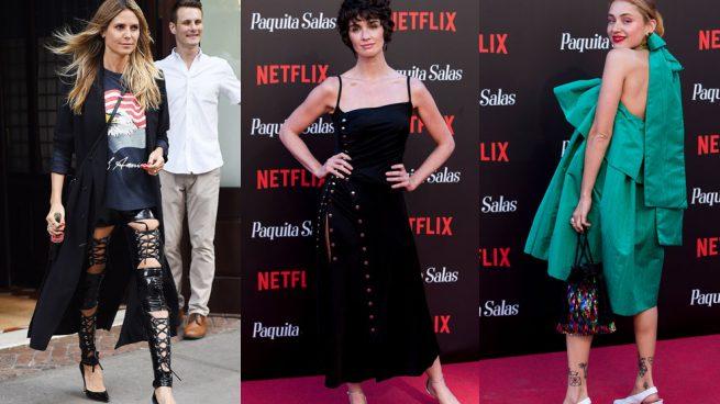#LookOk vs. #LookKo | De los pantalones ajustados de Heidi Klum hasta el vestido abullonado de Miranda Makaroff