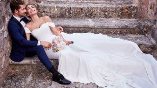 David Bisbal y Rosanna Zanetti ya son marido y mujer  / Instagram.com/davidbisbal