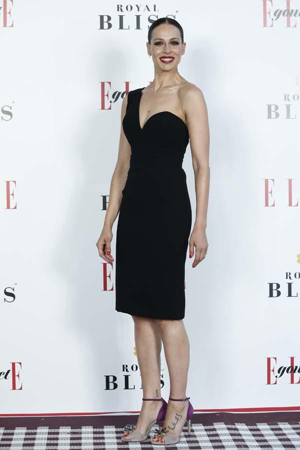Eva Gonzalez durante la 4 edicion de los premios Elle Gourmet