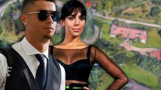 Cristiano Ronaldo y Georgina Rodríguez en un fotomontaje de LOOK