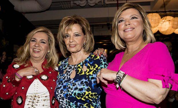 Carmen Borrego, Terelu y María Teresa Campos