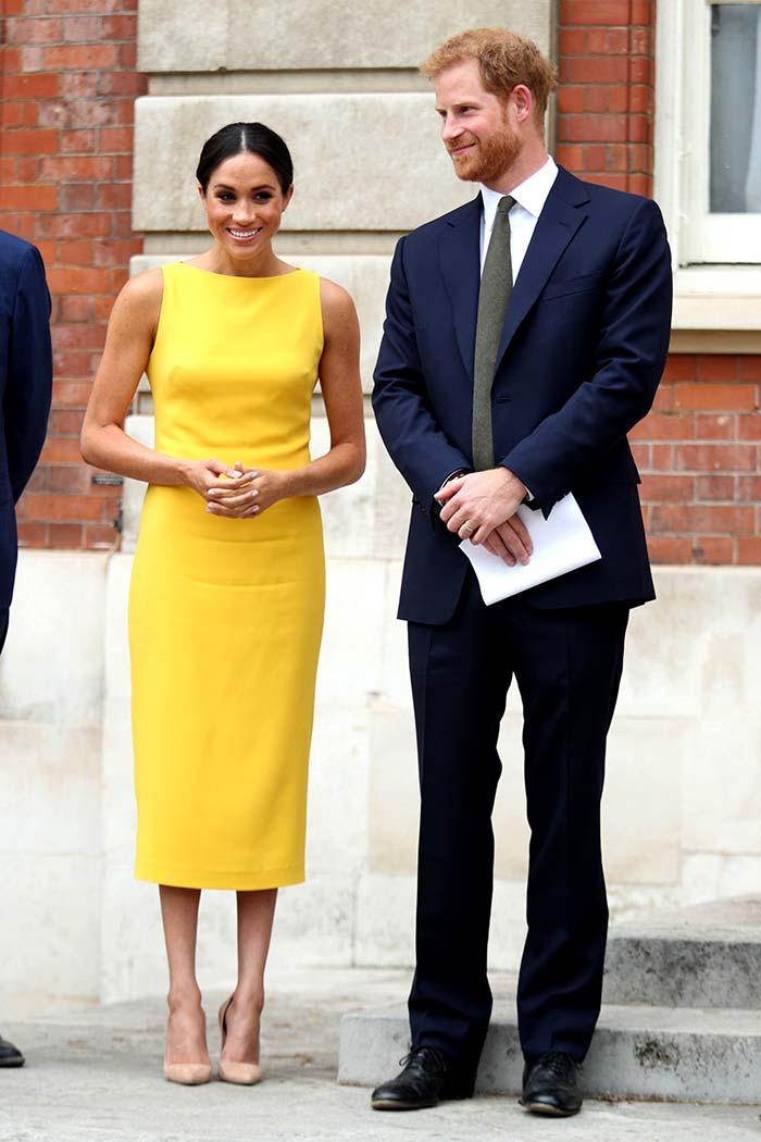 Kate Middleton recuerda a Meghan Markle que ella ya fue la reina del amarillo