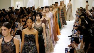 Desfile de Dior Alta Costura / Gtres