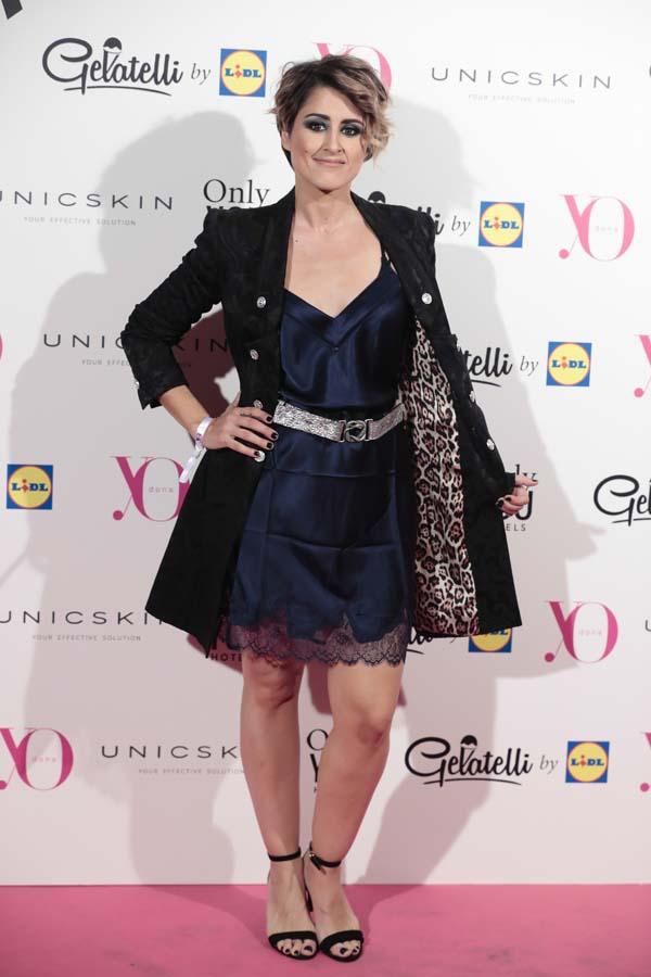 Barei asiste a la fiesta de Yo Dona previa a la Mercedes-Benz Fashion Week de Madrid / Gtres