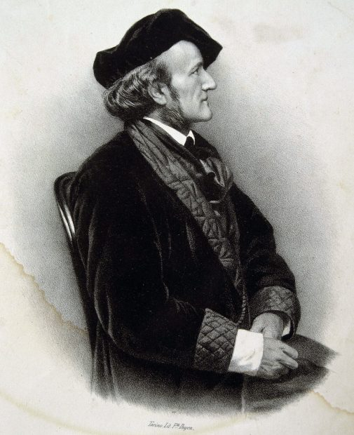 El músico Richard Wagner en un grabado / Gtres
