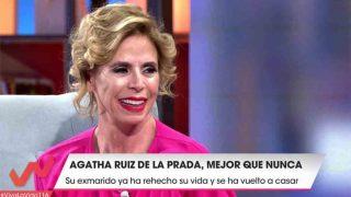 Ágatha Ruiz de la Prada en Viva la vida /Mediaset