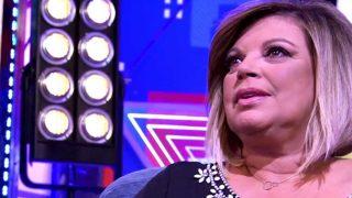 Terelu Campos durante su entrevista en Sábado Deluxe /Mediaset