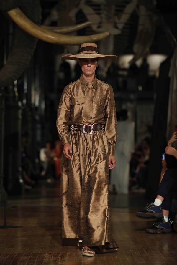 Desfile de Palomo Spain en la Pasarela Cibeles - Mercedes-Benz Fashion Week Madrid 2018