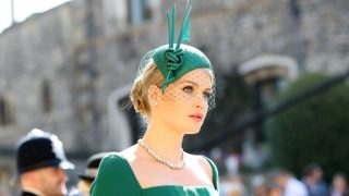 Lady Kitty Spencer en la boda de los Duques de Sussex / Gtres
