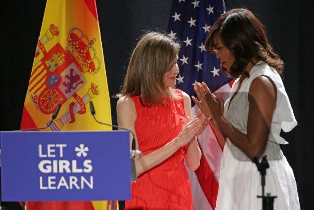 Michelle Obama y doña Letizia: ¿Crisis o fin de capítulo?