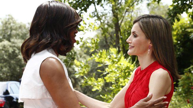 Michelle Obama y la reina doña Letizia / Gtres