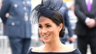La exactriz ha apostado por un vestido muy similar al de su boda con Harry / Gtres