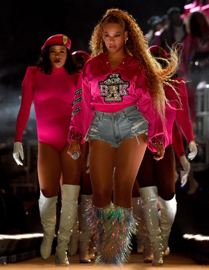 Beychella Balmain Beyoncé
