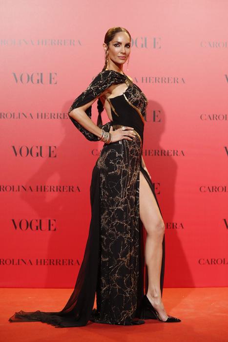 Eugenia Silva de Versace en el Aniversario de Vogue / Gtres