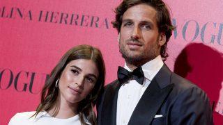 Feliciano López posa con su pareja, la modelo Sandra Gago / Gtres.